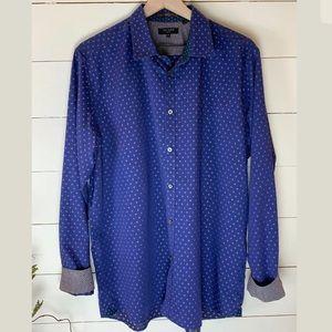Ted Baker London Men's Fillips Shirt Size 6 EUC